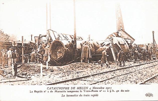 4 novembre 1913, catastrophe ferroviaire à Melun