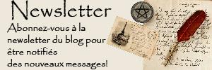 Inscrivez-vous à la newsletter du blog