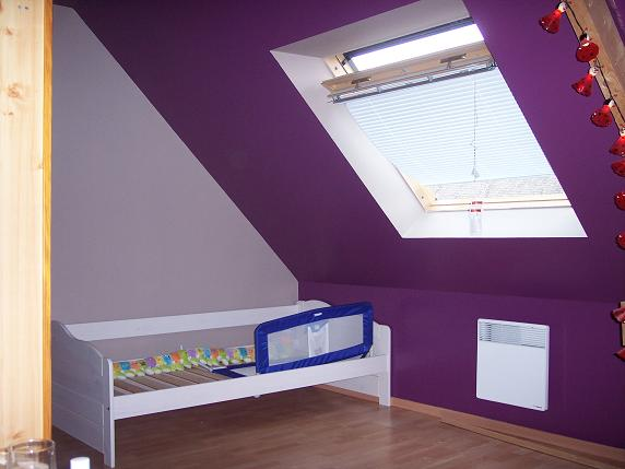 Peinture chambre lou ann suite et resuite for Peinture et decoration chambre