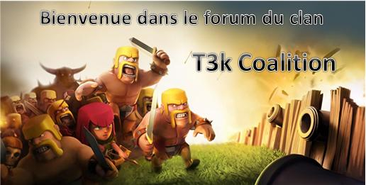 Forum du clan T3k coalition