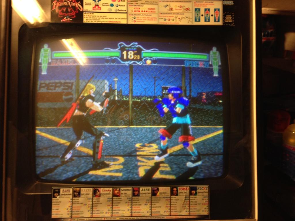 VDS/ECH] Fighting Vipers Sega Model 2B - NEO-ARCADIA