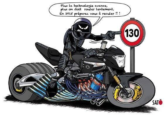 Non au 80 km h sur route forum spyder4ever - Dessin de motard ...