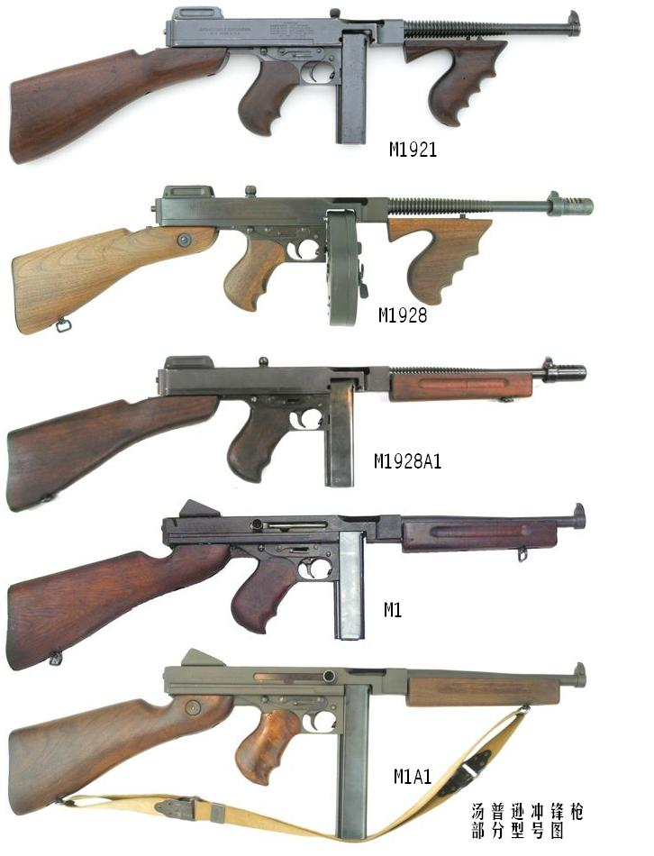 Which Thompson Do You Have? - Thompson Submachine Gun ...