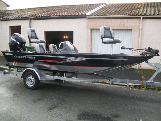Barque bass boat occasion for Instinct bass boat