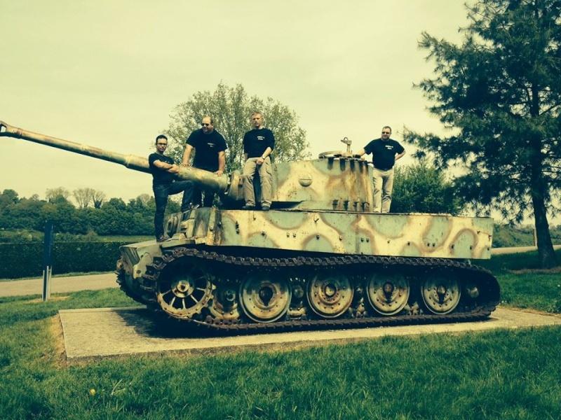 Le char tigre de vimoutiers hors sujet world of tanks for L interieur du char de vimoutier