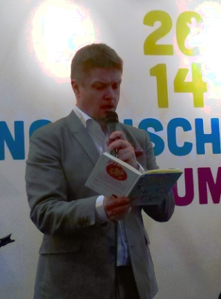 Timo Parvela - Leipziger Buchmesse 2014