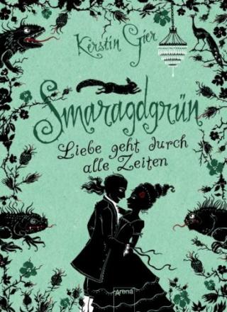 Cover Smaragdgrün (c) Arena Verlag