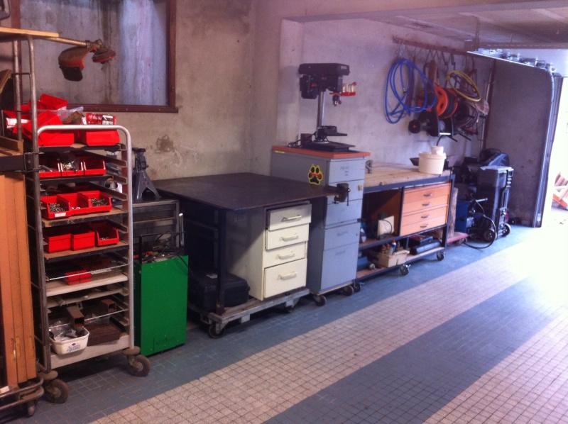 Le coin des bricoleurs page 7 for Amenagement garage mecanique