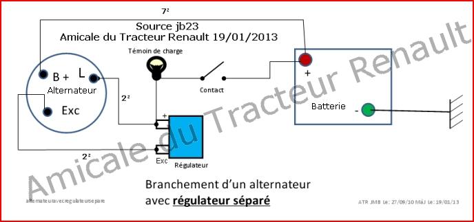 Montage D Un Alternateur 224 La Place D Une Dynamo