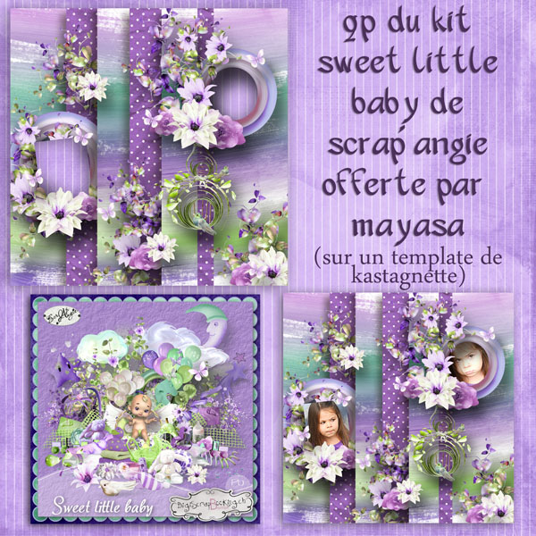 sweet little baby by scrap