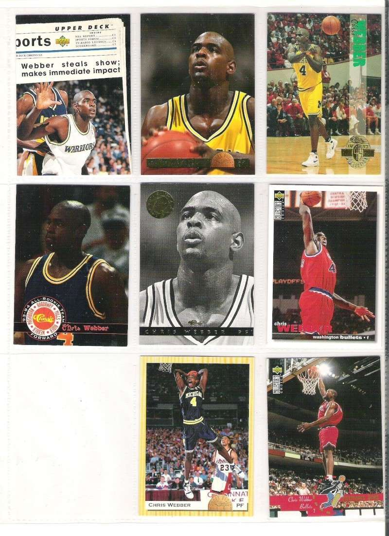 Lot Cartes Basketball Trading Cards