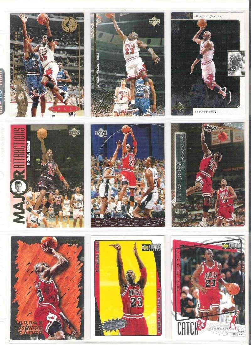 Carte card NBA Upper Deck 1995 #339 Major Attractions MA Michael JORDAN BULLS