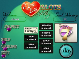 Free I Love Lucy Slots
