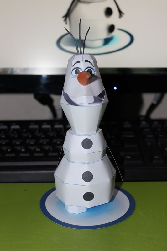 Olaf le bonhomme de neige disney - Modele bonhomme de neige ...