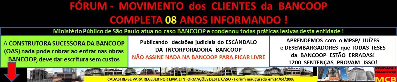 FORUM dos CLIENTES BANCOOP