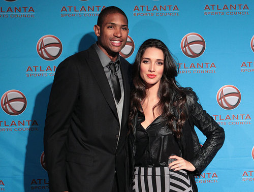 Al Horford with beautiful, sexy, Wife Amelia Vega