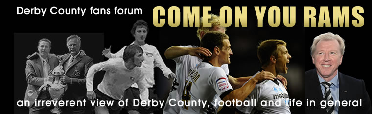 COME ON YOU RAMS - Derby County Fans Forum