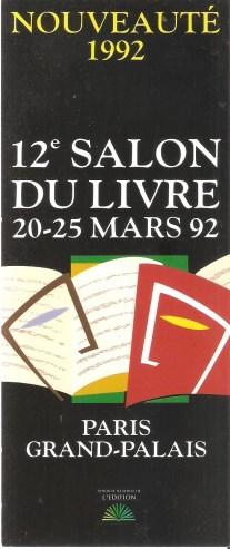 Salon du livre de paris - Le salon du livre paris ...