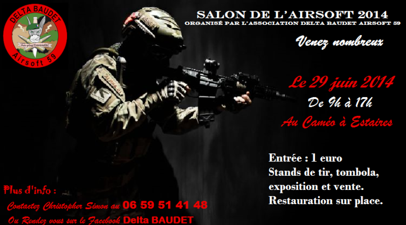 le salon de l 39 airsoft du nord