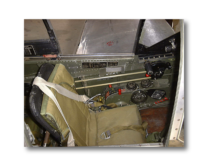 The pilots seat  P51 Diary  Spitfire in my workshop