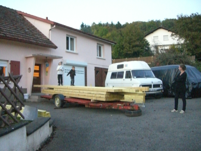 ma future maison et mon futur garage pour mon bed