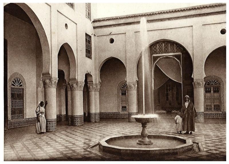 le jardin et la maison arabes au maroc de jean gallotti page 5. Black Bedroom Furniture Sets. Home Design Ideas