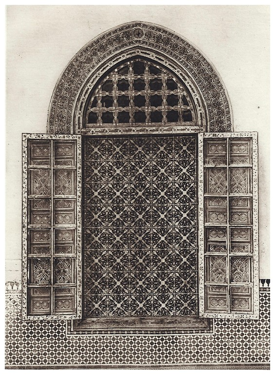 Le jardin et la maison arabes au maroc de jean gallotti page 7 for Le fer forge dans la maison