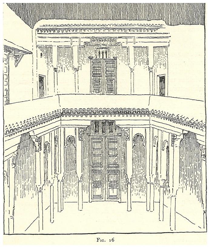 Le jardin et la maison arabes au maroc de jean gallotti for Fenetre sur cour casablanca