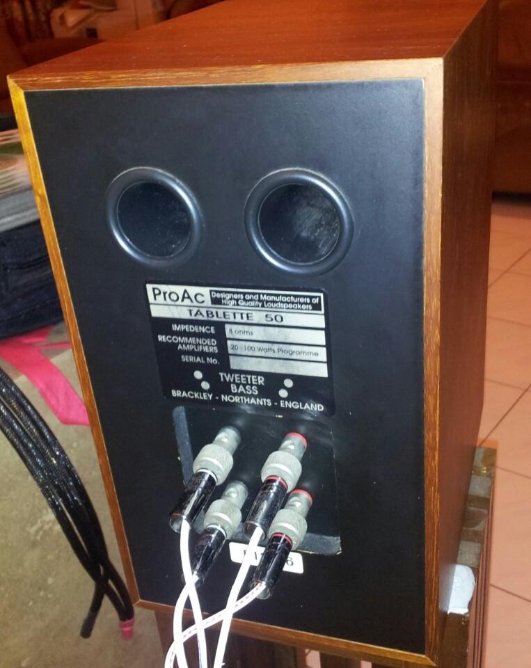 proac tablette 50 loudspeaker. Black Bedroom Furniture Sets. Home Design Ideas
