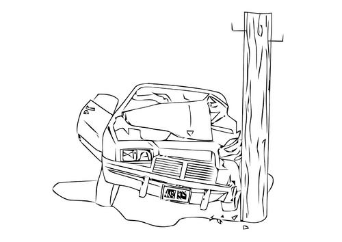 Choques de autos dibujos - Imagui