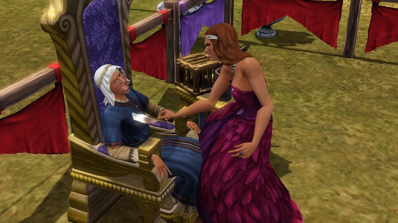 A Goodly Length in Times Past Glimpses from Sims Medieval Page 2 – The Tickle Chair