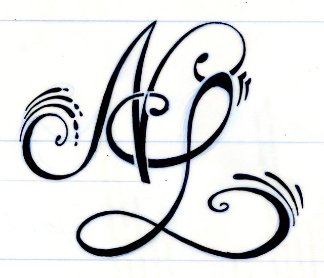 Bonjour, je me permet de répondre sur cette photo car je cherche le même  style de tatouage mais avec les initiale S et A avec des arabesque(libre  choix) et