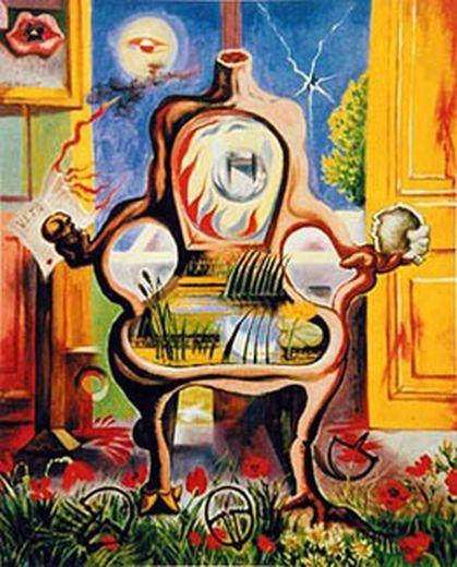 André masson le fauteuil louis xvi 1938