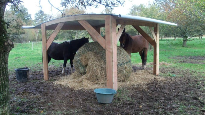 construire un abri pour chevaux. Black Bedroom Furniture Sets. Home Design Ideas