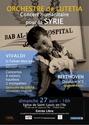 affiche Concert pour la Syrie avec l'Orchestre de Lutetia