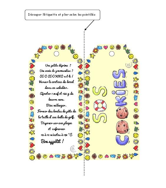 Beliebt Une idée de cadeau: SOS Cookies QX54