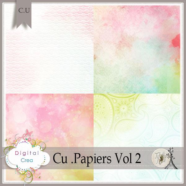 CU Papiers Vol 2 de TifScrap dans Mars tifscr79