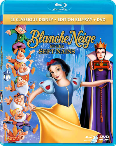 bd dvd kidzy blanche neige et les sept nains poisson. Black Bedroom Furniture Sets. Home Design Ideas
