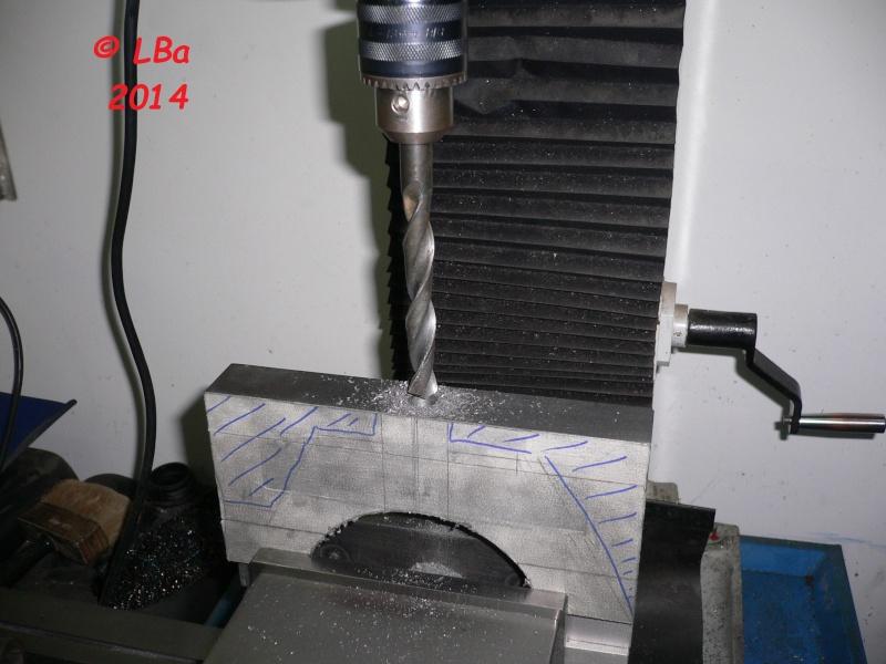 perçage passage pompe