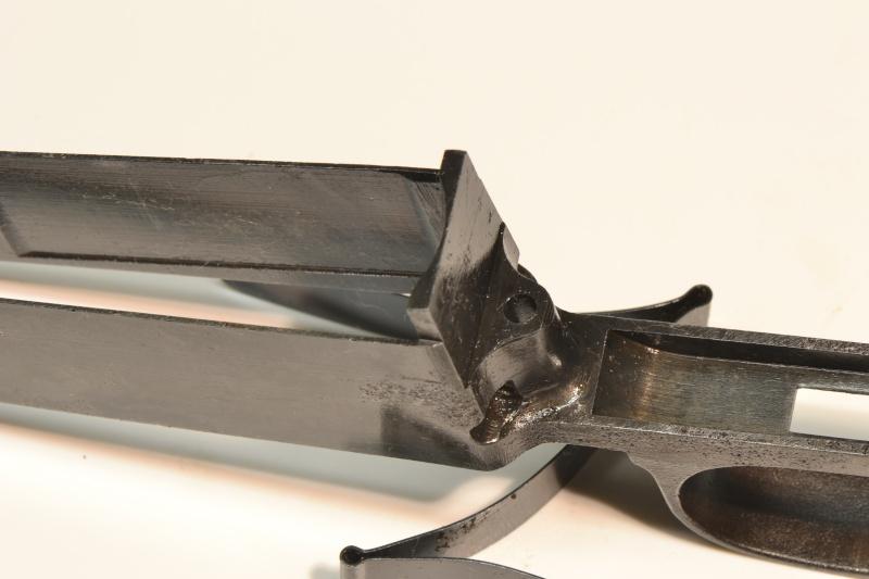 Bnz 41 garde main durofol avant et apres nettoyage par - Trace de rouille sur inox ...