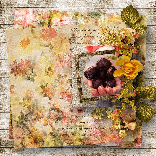 falling in autumn kit simplette page wiwigeoun