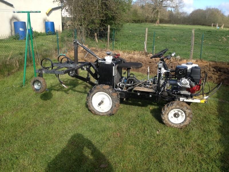 tracteur tondeuse fait maison id es sur les parcs et. Black Bedroom Furniture Sets. Home Design Ideas