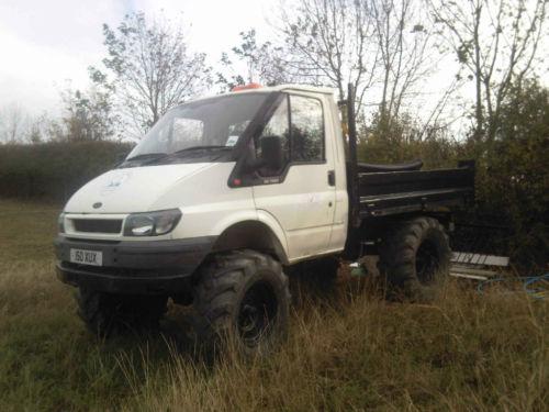 Unimog transit for 4x4 dans la boue