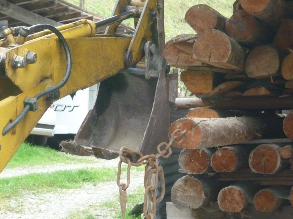 Transporter des grands bois avec un tracteur + brouette  Page 2 ~ Brouette Pour Transporter Du Bois