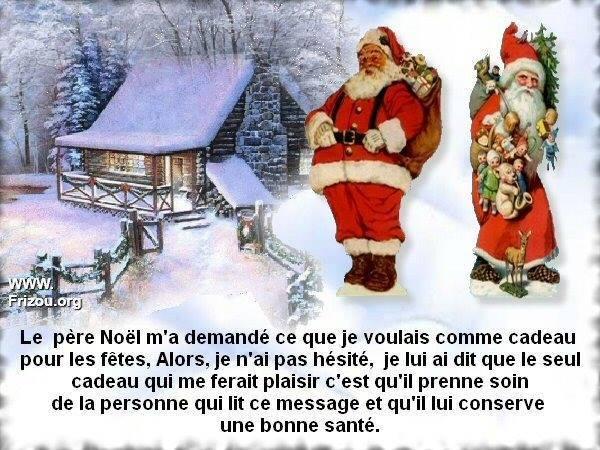 noel petit message