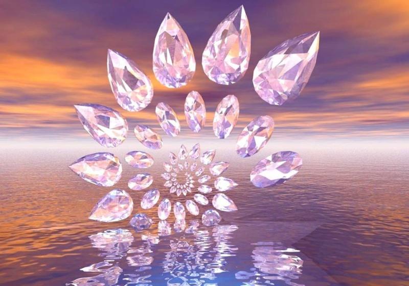 spirale cristaux