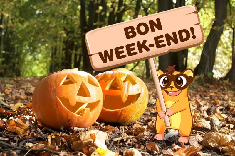 """Résultat de recherche d'images pour """"image bon week end halloween"""""""