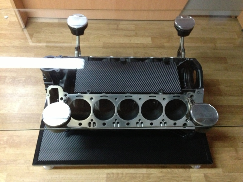 Bricolage fabrication d 39 une table basse avec un moteur page 2 - Table basse moteur voiture ...