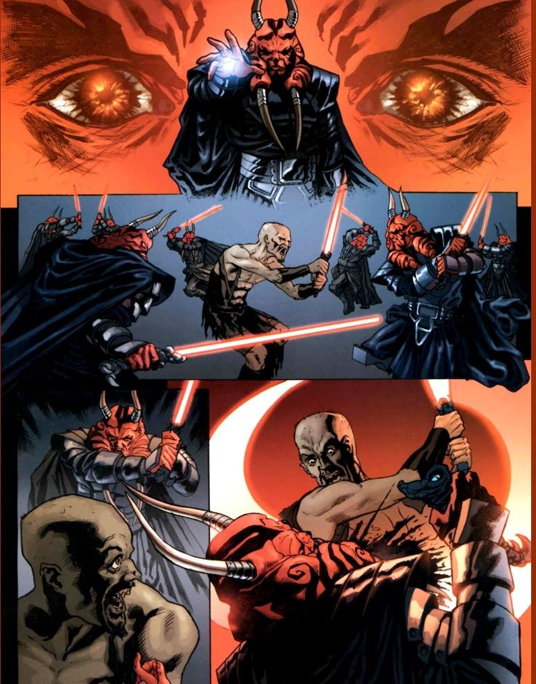 Darth Krayt vs Darth Wyyrlok Darth Wyyrlok Voice Round 1
