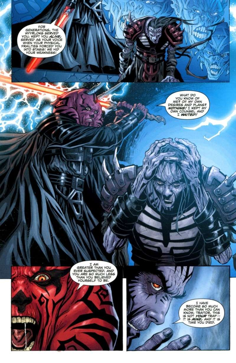 Darth Krayt vs Darth Bane Darth Vader vs Darth Krayt